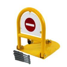 Blocator manual cu lacat tip Arcada Galben