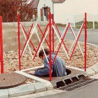 Cadru metalic pentru canale si gropi