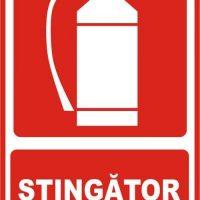 Indicator de securitate psi Intrerupator stingator
