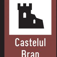 Indicator rutier de informare turistică T1 Castel cetate