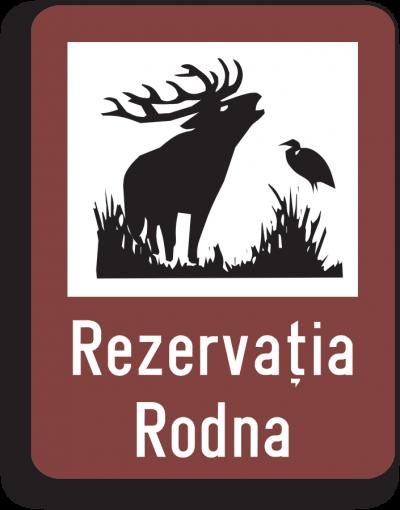 Indicator rutier de informare turistică T6 Rezervație