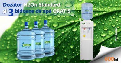 Dozator de apă H2On Standard + 3 bidoane de apă 1