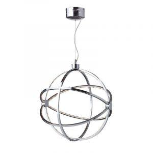 www.jtjmag.ro lustra suspendata din metal cu led globe lustra suspendata din metal cu led globe