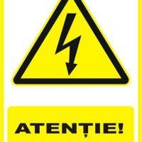 """Indicator de securitate de avertizare """"Atentie 380V"""""""