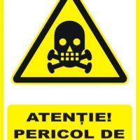 """Indicator de securitate de avertizare """"Atentie Pericol de asfixiere"""""""