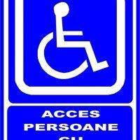 """Indicator de securitate de informare generala """"Acces persoane cu dizabilitati"""""""