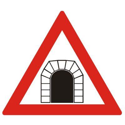 Indicator rutier avertizare Tunel A14