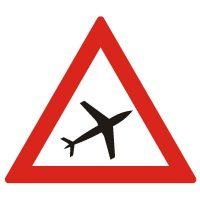 Indicator rutier avertizare Aeroport A29