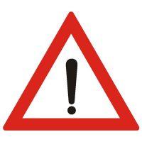 Indicator rutier avertizare Alte pericole A32