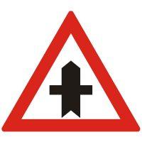 Indicator rutier avertizare Intersectie cu un drum fara prioritate A35