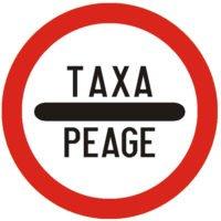 Indicator rutier interzicere sau restrictie Taxa de trecereC33